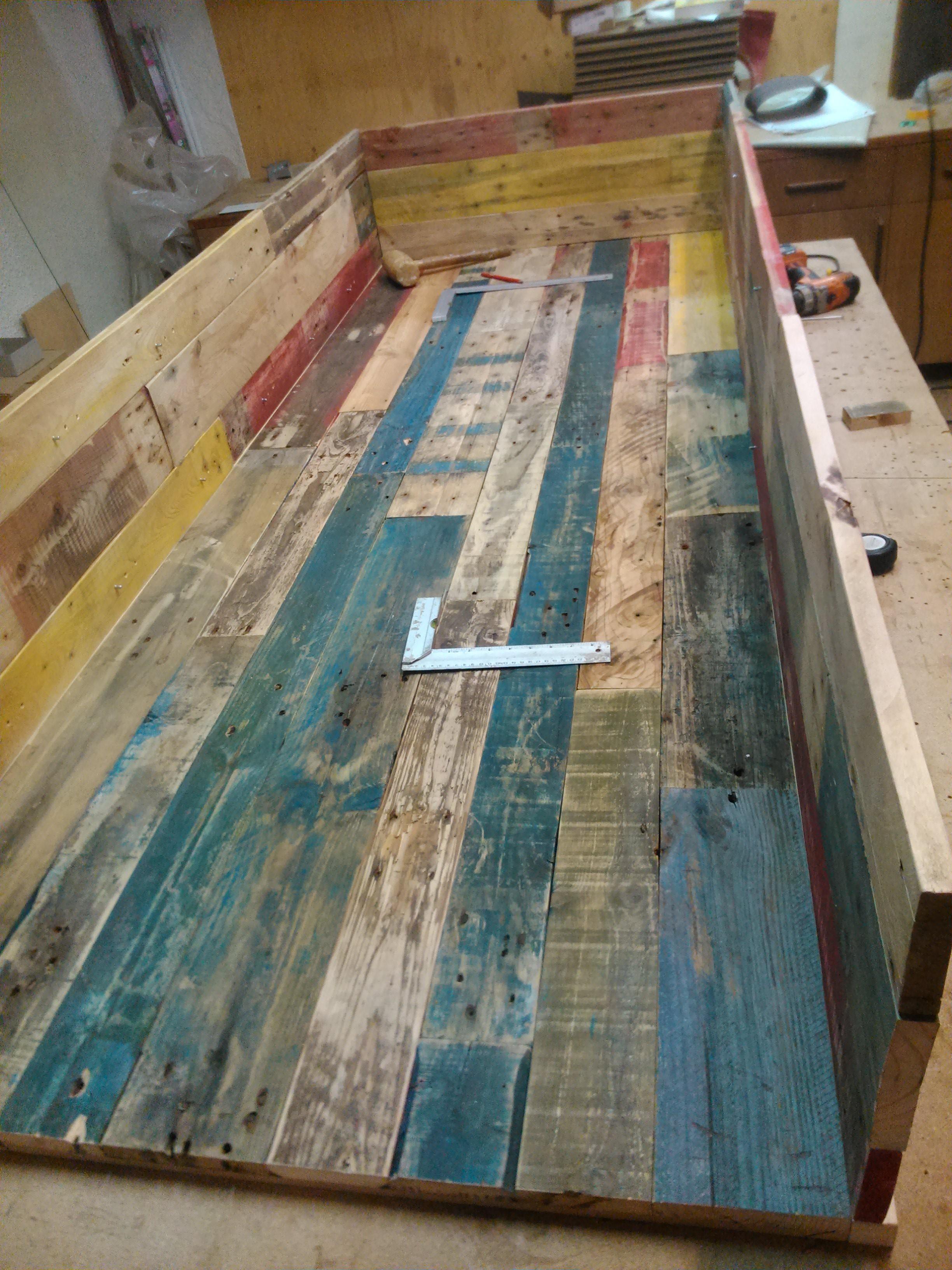 Ongebruikt Pallets worden planken worden panelen worden een kast - Kluslijn DD-76